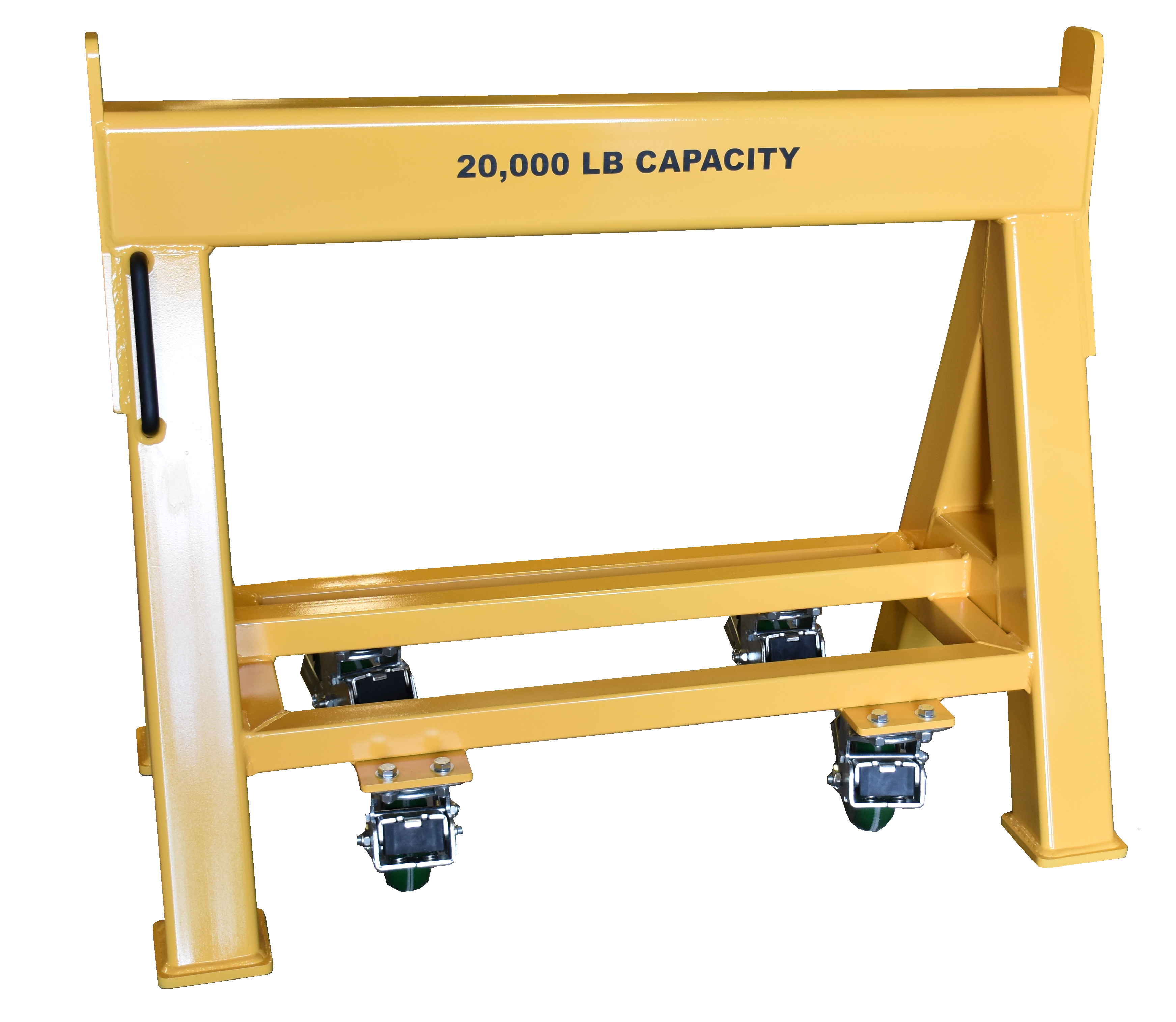 High Capacity Industrial Work Horse 20,000 LB. Steel Top Spring Loaded Compression Caster (184406)