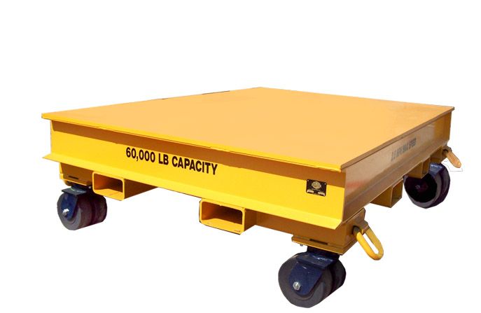 60,000 LB. Scooter Industrial Trailer for Material Handling