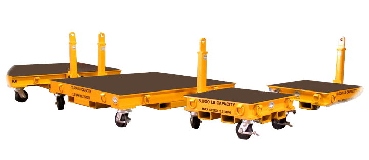 8,000-10,000 LB. Scooter 60,000 lb. 5th Wheel Industrial Trailer for Material Handling (163613)