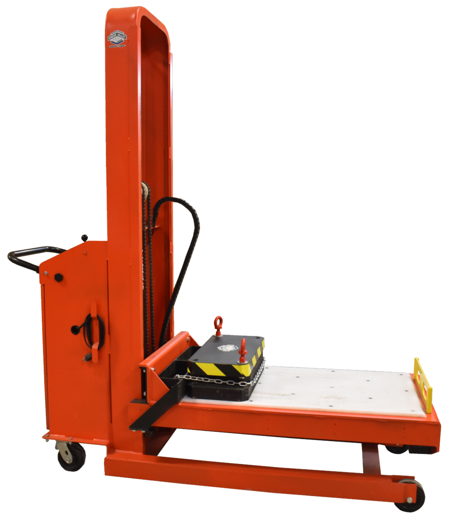 1,000 lb Single Station Die Cart