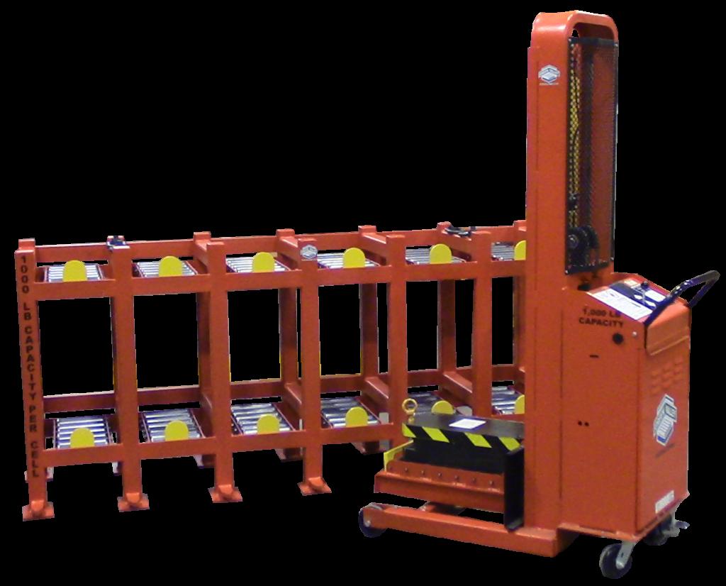 1,000 lb Single Station Die Cart