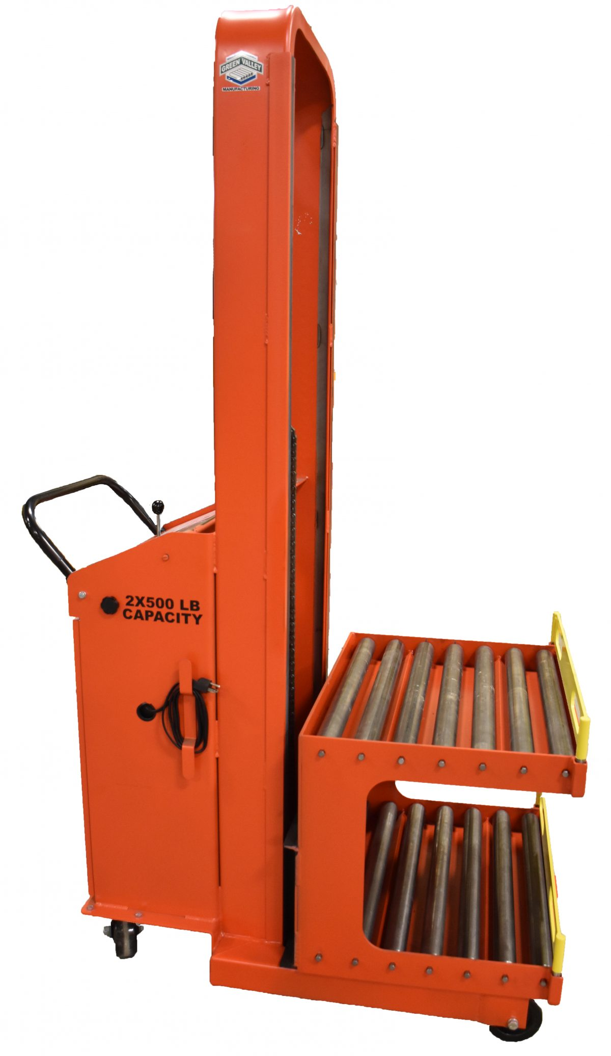 2 X 300 lb Double Station Mold Change Cart