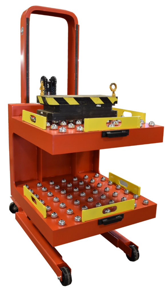 2 X 620 lb Double Station Die Cart