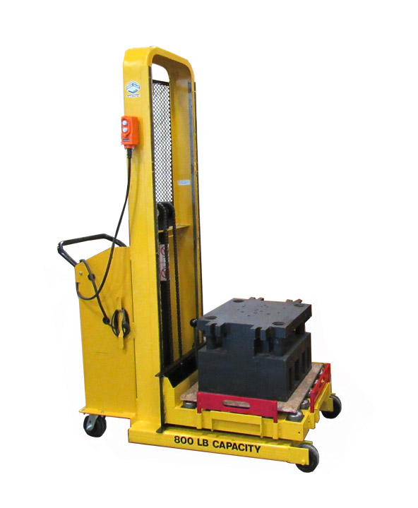 800 lb Single Station Mold Change Cart