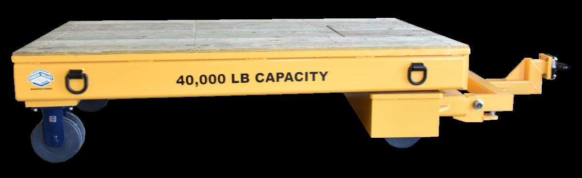 40,000 lb. 5th Wheel Industrial Trailer for Material Handling