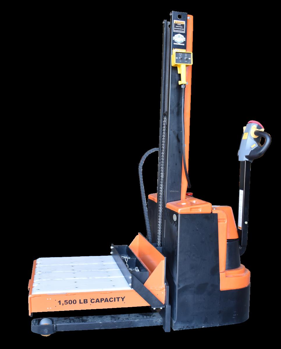 1,500 lb. capacity Die Cart UHMW deck surface