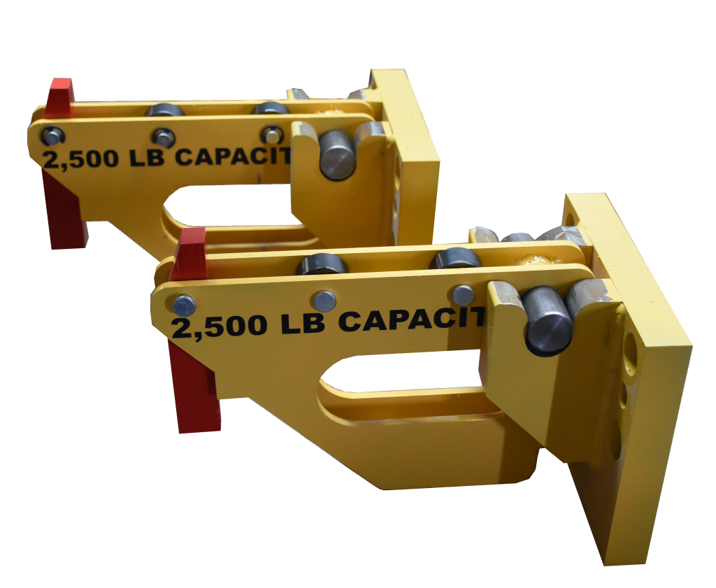 2,500 lb. Capacity Bolster Extension