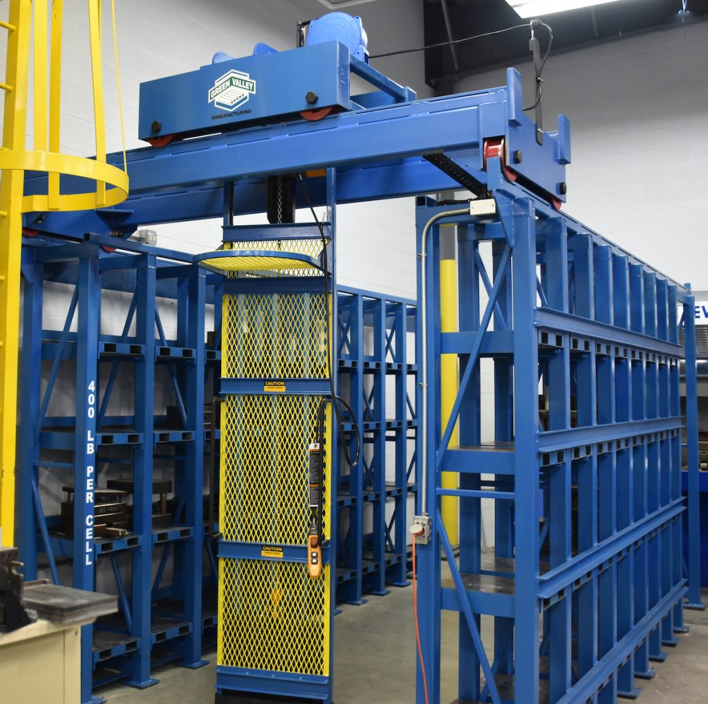 High Density Die/Mold Storage Retrieval System